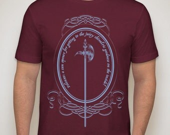 Medieval Poleaxe Tee T-shirt