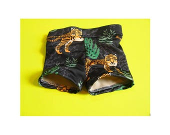 Tiger Swim Trunks