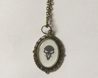 Reaper Overwatch Cameo Necklace