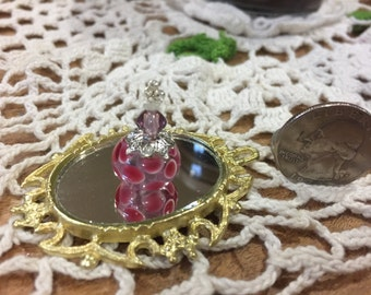 Miniature Perfume Bottle, Dollhouse Miniature,Dollhouse Accessories, Miniatures, Handmade