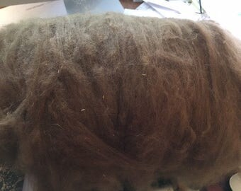 1.9 oz Brown Premium Grade Alpaca Batt
