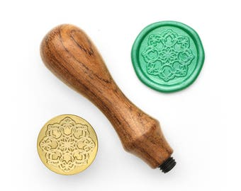 Mandalas Pattern - 47 - Design OD Wax Seal Stamp (DODWS0359)