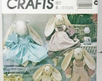 mccall's pattern #3760 Rabbit Craft