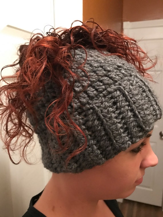 Phenomenal Ponytail Hat Messy Bun Hat Ponytail Messy Bun Crochet Hairstyles For Men Maxibearus