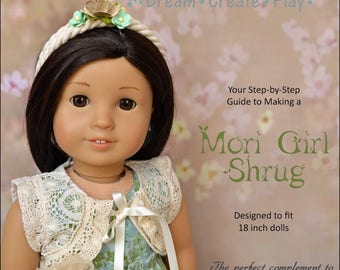 Mori Girl Shrug for 18 inch dolls