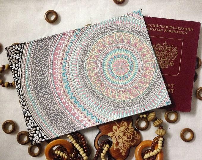 Leather passport holder, passport cover, passport wallet, passport case, leather passport wallet, personalised passport cover,travel wallet