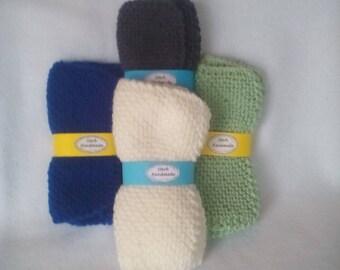 Hand Knit Wash/Dish Cloths sets