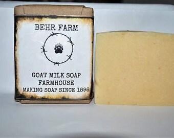 FarmHouse Goats Milk Soap