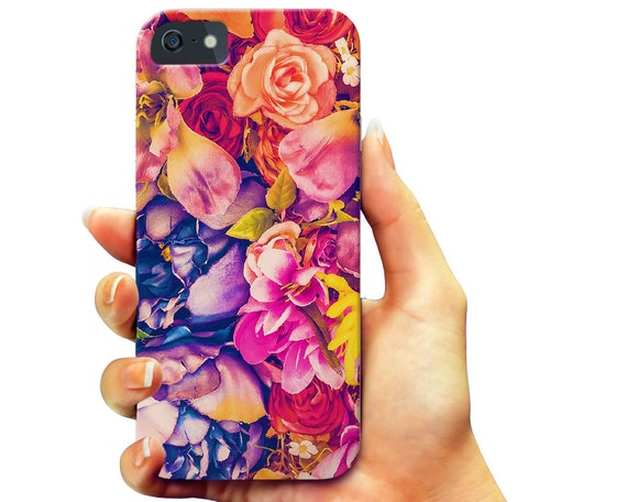 Flowers Galaxy Note 5 Case, Floral iPhone 7 Case, Kids Galaxy S6 Case, Flower iPhone 6 Case, Teen iPhone 5S Case, Girl Galaxy S7 Case