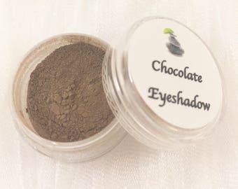 Eye Shadow - Chocolate Eyeshadow - Mineral Eyeshadow - Vegan Makeup - Mineral Makeup - Natural Eyeshadow - Vegan Makeup - Chocolate