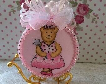 Dancing Pink Bear