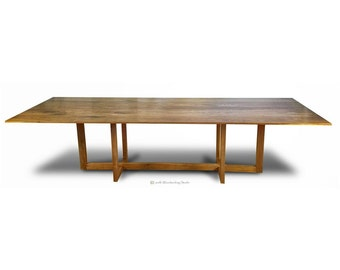 Modern Beveled Underside Dinning Table