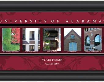 Graduation Gift - Campus Letter Art