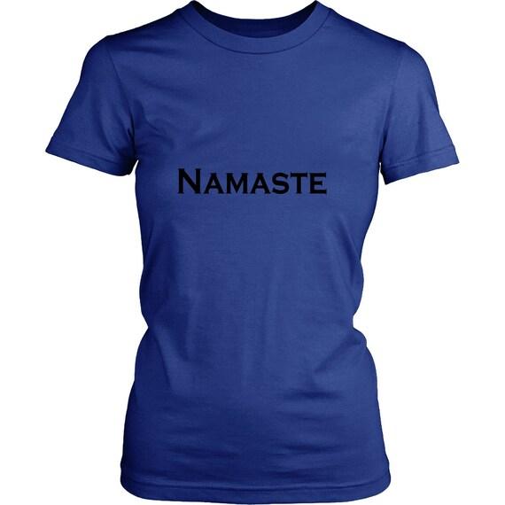 Namaste Black Print Women's Shirt Best Gift Ideas Gift For Her