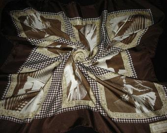 Rare CHRISTIAN DIOR 100% silk scarf / PROMOTION! Free shipping. Dior