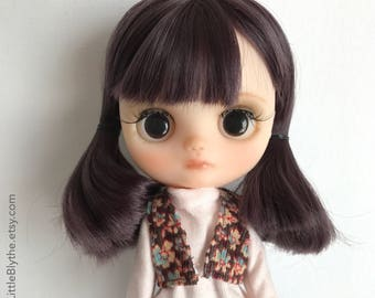 OOAK Custom Middie Blythe doll fake - Margherita