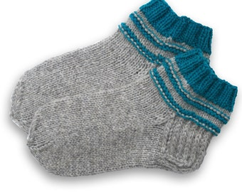 Bed socks, indoors slippers | simple, nice and warm, colors- grey, blue