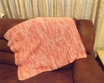 Candy Pink Double Thread Baby Blanket or Lap Blanket