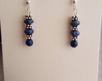 Lapis and Bali Silver