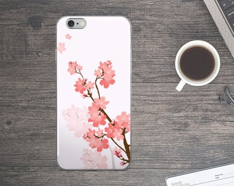 Cherry Blossom iPhone Case. Cherry Blossom iPhone 7 case. Cherry Blossom iPhone 6 Case. Cherry Blossom iPhone 5 Case. Fox iPhone 6+ Case