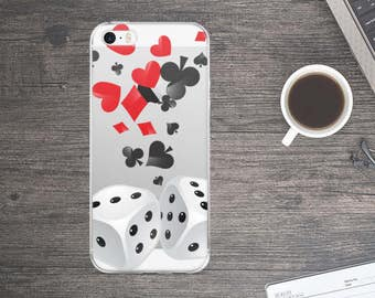 Cards and dice iPhone Case. Cards and dice iPhone 7 case. Cards and dice iPhone 6 Case. Cards and dice iPhone 5 Case.