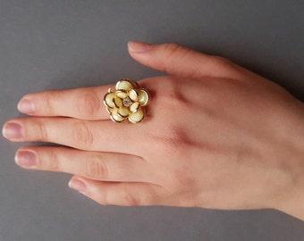 Flower Ring, Unique Ring, Ring for Wedding, Gift for Women