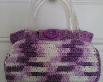 Barrel Purse Crochet