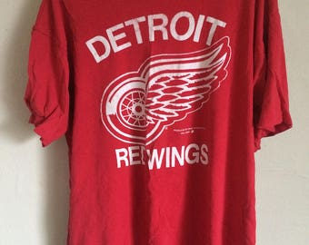 90s Detroit Red Wings Tee Shirt