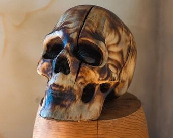 Large Skull - Light Finish