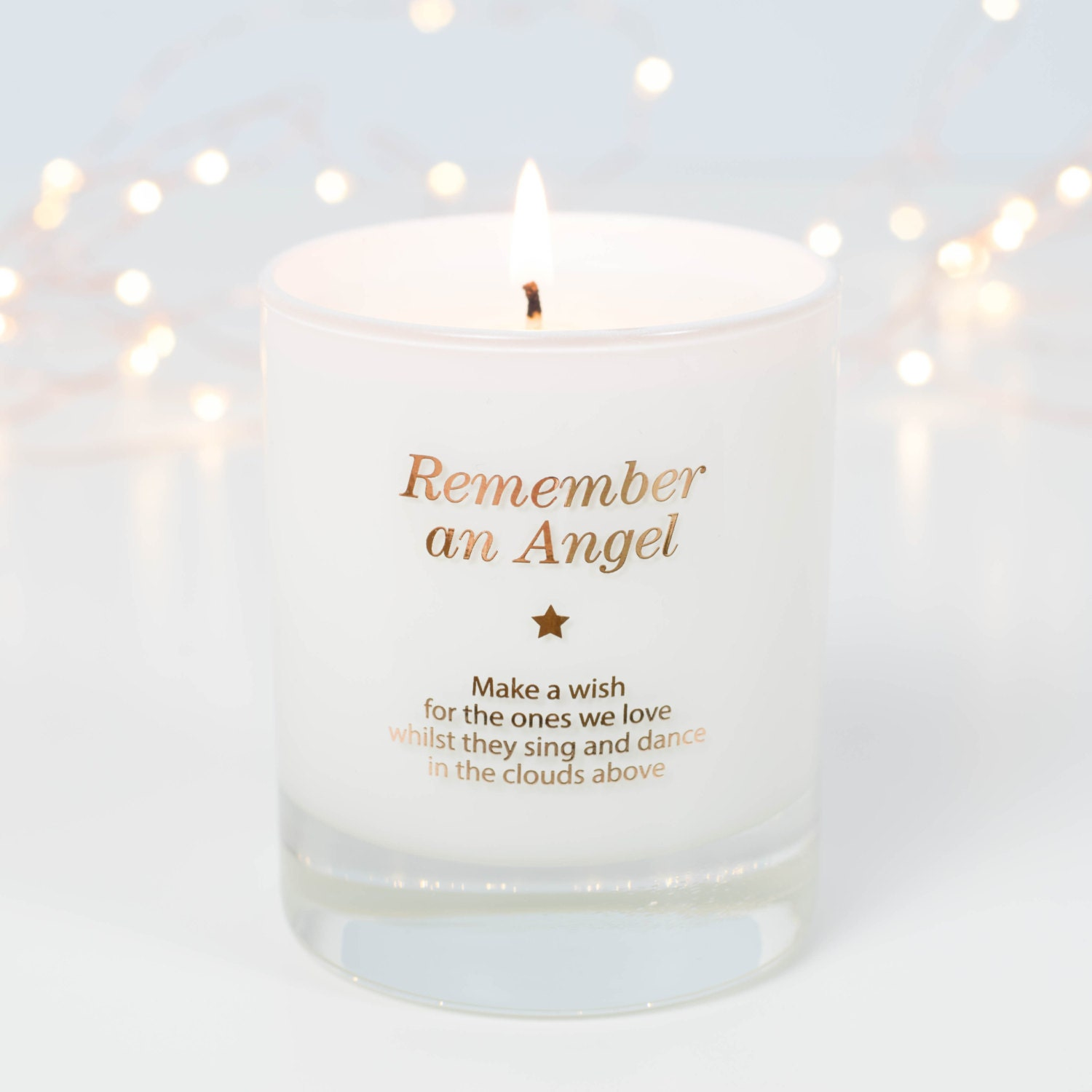 Baby loss ornaments - Remembrance Gift Sympathy Gift In Loving Memory Infant Loss Memorial Candle