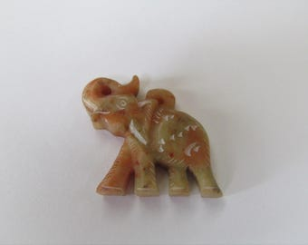 Wonderful Hand Carved Elephant Pendant in Marble