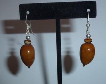 Acorn Earrings #12