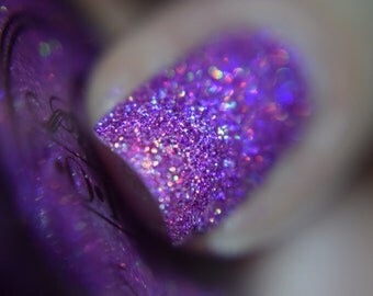 "P•O•P Iconic Collection ""Lullaby Of Birdland"" Micro Glitter Bomb Indie Nail Polish Varnish Lacquer"