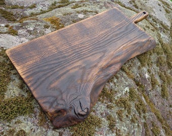 Old Tradition Rustic Cutting Board, Wooden Serving Board, Vintage Wood Board, Chopping Board, Bread Board, Cheese Board, Salvaged Wood Board
