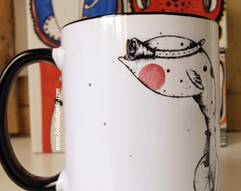 "Mug ""fish equilibrista"""