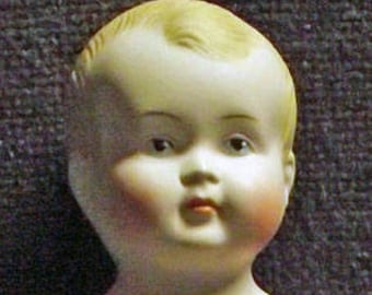 Antique Repro baby doll, approx. 17 cm (9)
