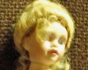 Little artist doll, undressed, about 12 cm