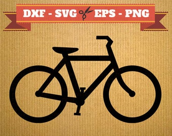 Bicycle SVG Files Bike files for cricut, Bicycle cutting files, clipart, DXF files Bike, silhouette, svg cut file for cricut and cameo