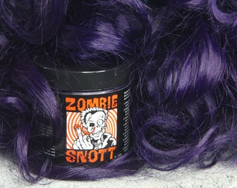 "Zombie Snott ""Violet X"" BRAND NEW long-lasting hair color to DYE for! - 4oz Jar"