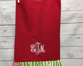 Holiday Hand Towel, Personalized Towel, Monogrammed Towel, Gifts, Christmas Gifts, Housewarming Gifts, Christmas Hand Towel, Personalized