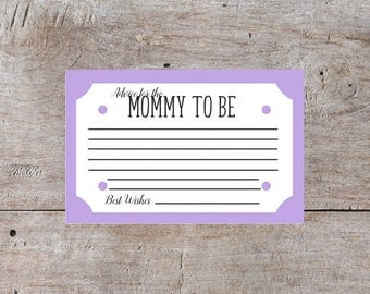 Mom to Be, Purple Baby Shower Cards, Baby Shower Printables, Baby Shower Game Ideas, Games for Baby Shower, Baby Shower Ideas