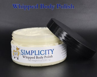 Simplicity ~Whipped Body Polish (sugar scrub)~