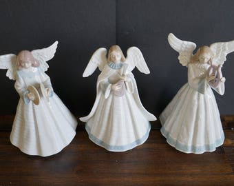 Lladro #5830, #5876, #5963 Group of Angles - Porcelain Figurines - Original Boxes