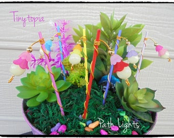 Fairy Garden Path Lights Glow in the Dark Path Lights