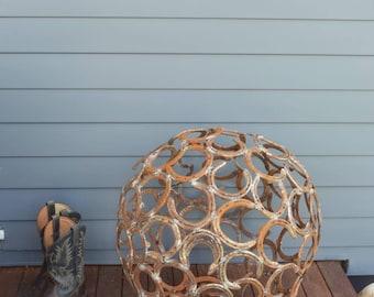 Horse shoe ball sphere orb 600mm