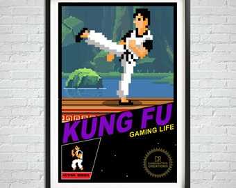 The karate kid etsy for 8 bit room decor