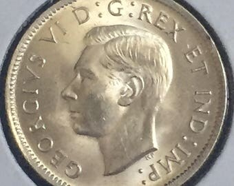 1937 Canada Quarter