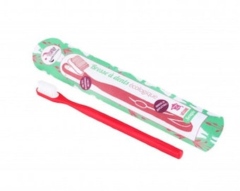 Rechargeable toothbrush - raspberry