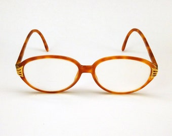 SALE 70 % off! - VALENTINO authentic eyeglasses - vintage frame - womens glasses - oval glasses - 80s frame - Valentino Garavani