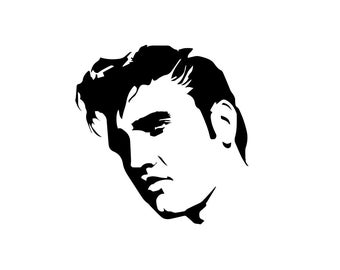 Elvis Decal - Elvis Presley / Vinyl Wall Decal / Elvis Gifts / Elvis